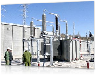 Iberdrola Services for Companies and Institutions: Electrical substation installation