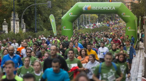 The Fifth March against Cancer in Valladolid has been growing at great strides